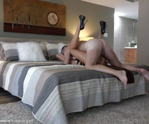 Close ups of blonde bombshell Sandra Otterson taking a cumshot in mouth