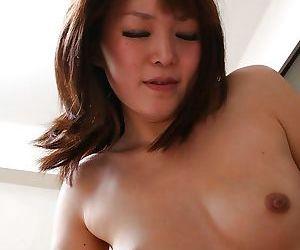 Asian slut Aika Nakano gives head and gets her hairy pussy boned-up