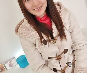 Asian teen Ayaka Oda gets naked and involved into sex toys play