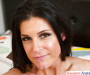 Busty brunette mom India Summer fucking her sons best friend