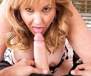 Mature woman Texas Rose lives out her old and young sex fantasies
