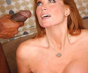 Mature redhead Darla Crane loves a 1 on 1 session with a big black cock