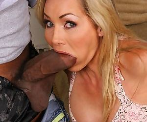 Cuckold wife Lisa DeMarco gets destroyed by her husbands black friend