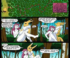 The Legend of Jenny And Renamon 5 - part 2