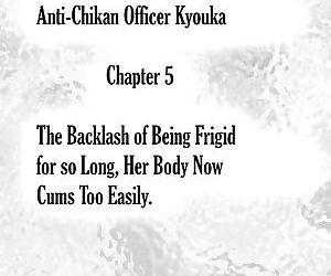 Chikan Otori Sousakan Kyouka Ch. 5 ~Fukanshou no Handou de Ikiyasuku natta Karada~