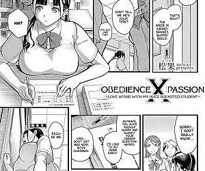 Juujun x Yokujou 〜furinaite wa jibun no kyonyuu seito〜 - Obedience x Passion ~Love Affair with my Huge Breasted Student~