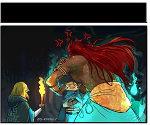 Zelda BOTW2 comics