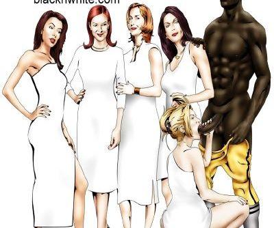 BlacknWhite- Desperate Hot Wives