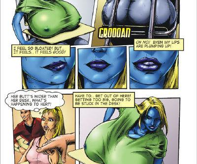 JSComix- The Bizarre Adventures of Berrygirl