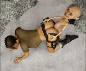 BlackAdder- Lara Croft- Goblin Fuck