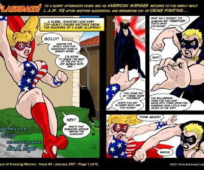 L.A.W.Comix- League Of Amazing Women 3-4