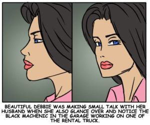 illustrated interracial- Rent
