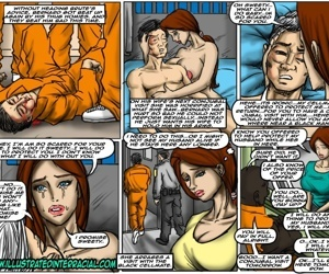 illustrated interracial- Prison Story