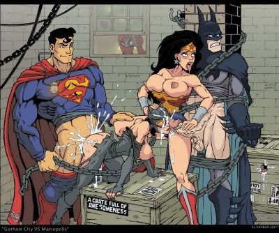 Justice League Sex Adventure