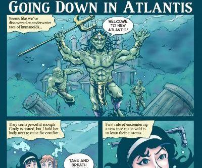 JKRComix- California Poon 1-Going Down In Atlantis