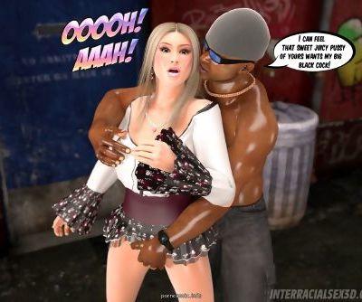 Interracialsex3D – White Slut In Hood