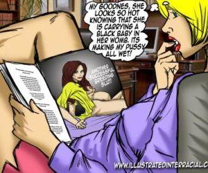 Slut Breeding- illustrated interracial