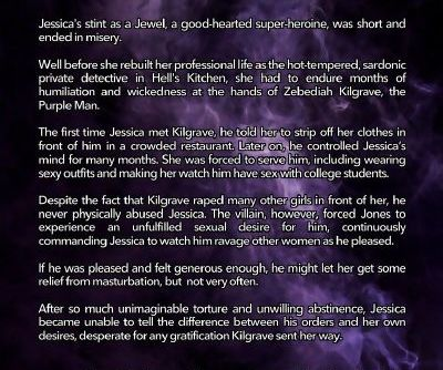 Tracy Scops- Jessica Jones