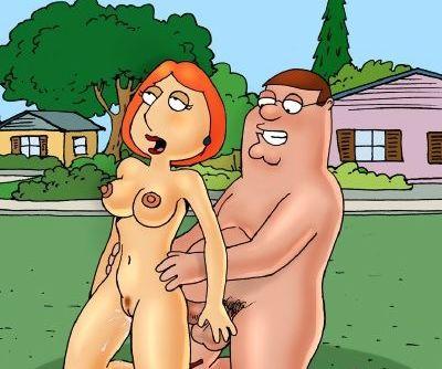 Family Guy- Family's Practice in Garden