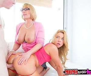 Naughty mother teaching her daughter how to fuck - part 2646