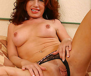 Exotic milf spreads her legs and slips her fingers inside - part 2754