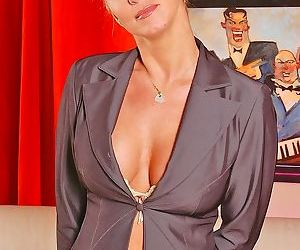 Big titted mature milf is rough banged - part 409