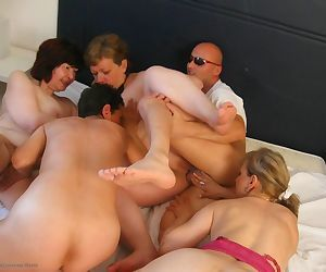 These mature sluts love group fucking - part 2058