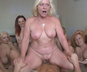 Welcome to czech harem. 25 women in their best years, that is 50+ - part 2443