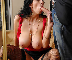 Hardcore milf alia janine titty fucks a hard cock and gets screw - part 1851