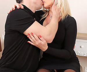 Busty blonde carolina carla takes her mans dick - part 2415