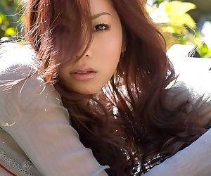 Asian idol ryo shinohara poses outdoors shows body - part 2021