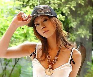 Asian model babe honoka in cute panties shows body - part 3841