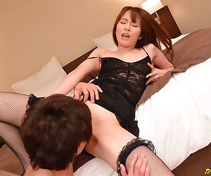Sex with a gorgeous japanese woman - part 4175