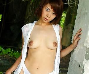 Naughty asian minami aikawa showing tits and pussy - part 2007