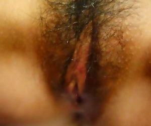 Kinky asian babe with hairy pussy posing naked - part 1989