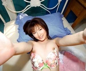 Japanese lingerie babe akane sakura shows her body - part 1468