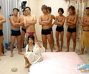 Japan babe miki uehara in group hardcore fucking session - part 4379
