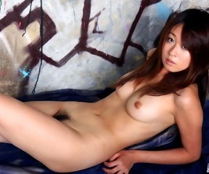 Pretty asian babe risa misaki shows tits and pussy - part 1803