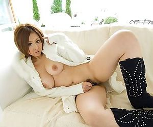 Japanese cutie yui aoyama shows her tits and pussy - part 3520