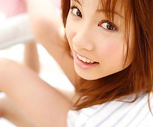 Gorgeous asian model reika shina shows off her ass - part 6