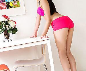 Ai mizushima hot pink 水嶋あい - part 3496