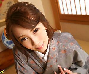 Japanese girl in a kimono dress - part 4106