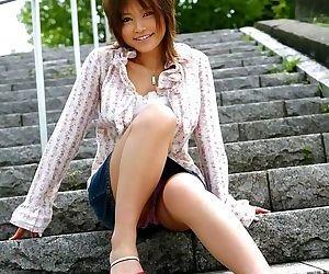 Naughty asian hitomi yoshino showin tits and pussy - part 3744