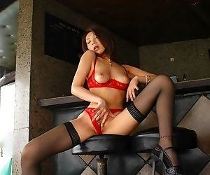 Japanese sexy model june showing tits and firm ass - part 4754