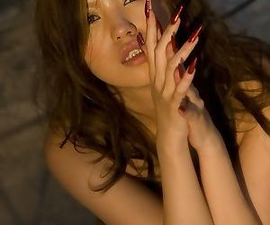 Lovely ethnic babe miyu sakurai poses showing tits - part 4908