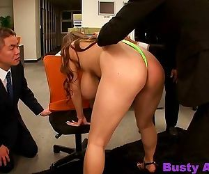 Asian hitomi tanaka massive big tits surrounded by guys at office - part 4202