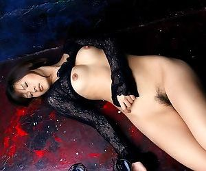 Japanese slut sara tsukigami in lingerie shows ass - part 3743