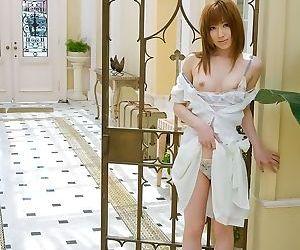 Pretty asian cutie miyu nakai shows tits and pussy - part 3674