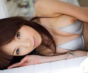 Naughty asian kanako tsuchiya shows tits and pussy - part 3522