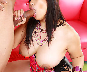 Sexy asian chick loves sucking and fucking big black dong - part 4718